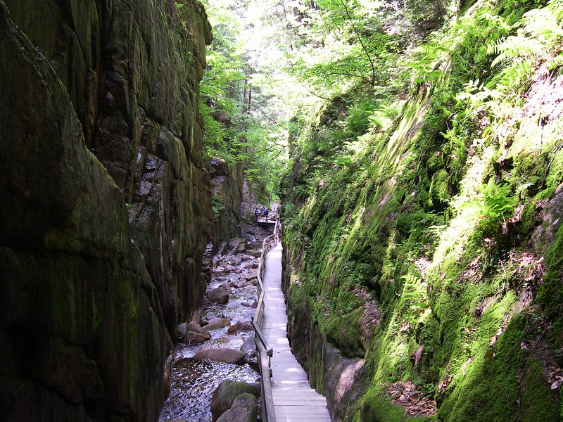 The Flume Gorge - Franconia, NH