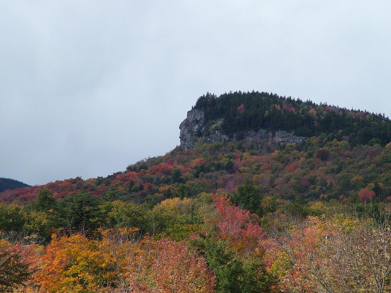 Indian Head Rock - Lincoln, NH