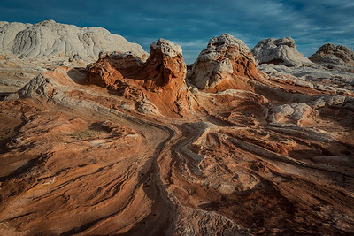 White Pocket, a part of Vermilion Cliffs National Monument in far northern AZ