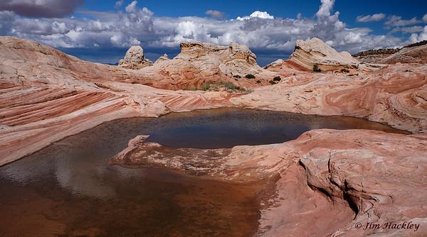 Sandstone Hot Tub