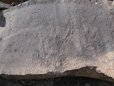 This is one of the most famous petroglyphs in the canyon. It is just a dozen feet from the trail.