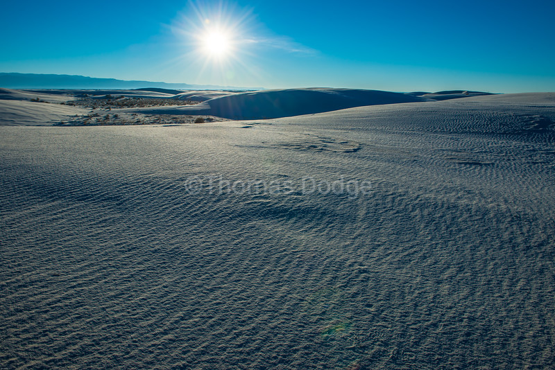"""White Sands, Big Skies—2"