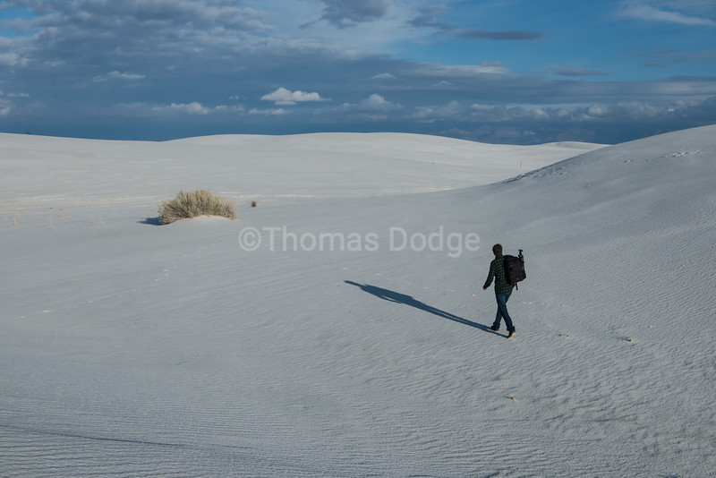 """White Sands, Big Skies""—12"