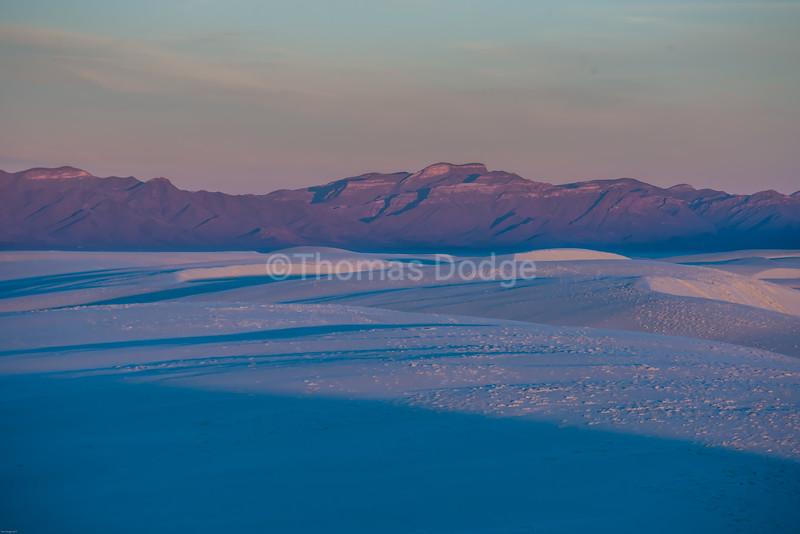 """""""White Sands, Big Skies—4"""