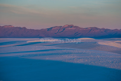 """White Sands, Big Skies—4"