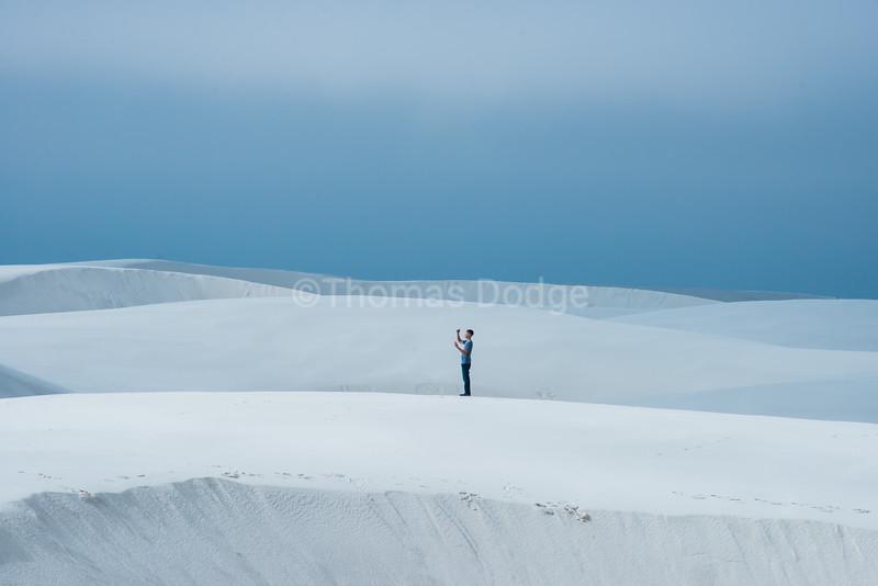 """""""White Sands, Big Skies""""—20"""