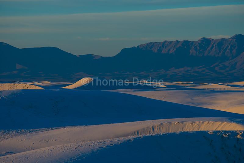 """""""White Sands, Big Skies—3"""