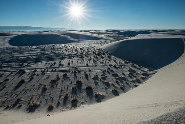"""""""White Sands, Big Skies—1"""