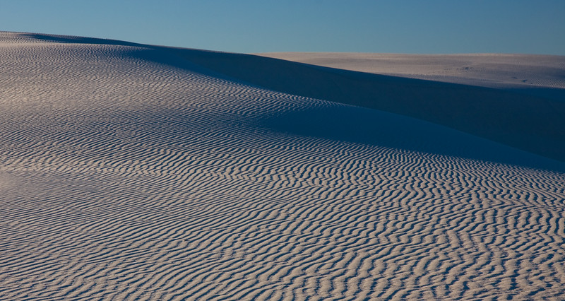 Mesmerizing patterns of the White Sand Dunes