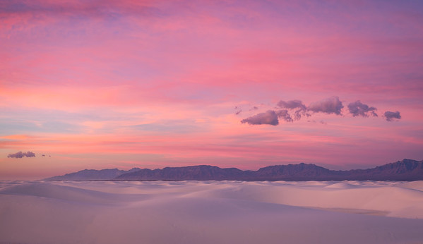 Pastel Dawn White Sands