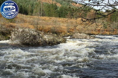 Winter white water rafting with Splash on the River Orchy in Grampian, Argyll, Scotland - http://rafting.co.uk