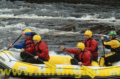 White Water Rafting River Orchy Scotland    http://www.rafting.co.uk