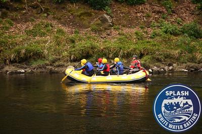 White water rafting Aberfeldy Perthshire Scotland