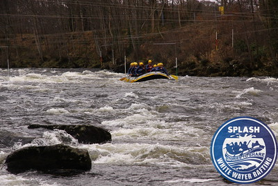 White water Rafting Aberfeldy Scotland with Splash Rafting