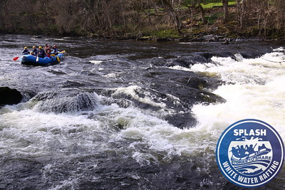 White Water Rafting on the River tay Aberfeldy Perthshire Scotland with Splash Rafting