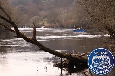 white water rafting Aberfeldy Scotland Splash Rafting