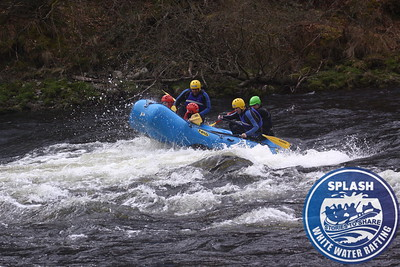 white water rafting river tay aberfeldy scotland