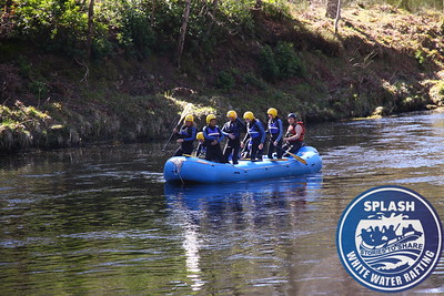 White water rafting Hen Party Scotland