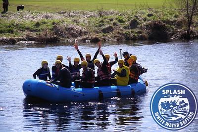 Stag Weekend White Water Rafting Scotland