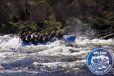 Stag Weekend White Water Rafting Scotland