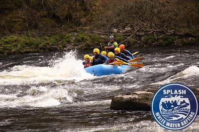 White water rafting Aberfeldy Scotland