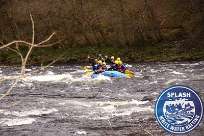 White water rafting Aberfeldy Scotland