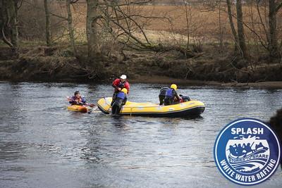 White Water Rafting River Tay Aberfeldy Scotland