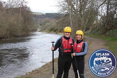 Splash White Water Rafting River Tay Aberfeldy Scotland
