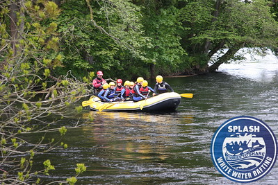 Queen Victoria School Dunblane Rafting and Canyoning Day