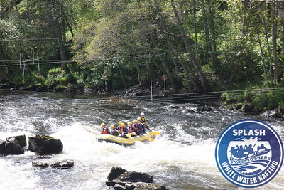 Queen Victoria School White Water Rafting and Canyoning Day