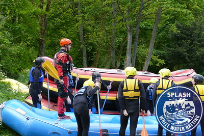 St Andrews High School Kirkcaldy White Water Rafting Day