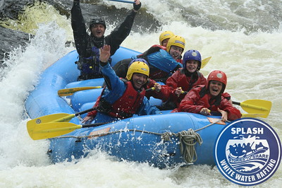 White water rafting with Splash Rafting on the River Tay in Perthshire, Scotland - http://rafting.co.uk
