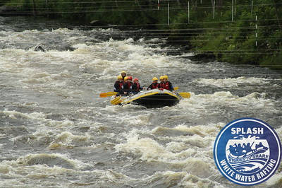 White water rafting with Splash on the River Tay in Perthshire, Scotland - http://rafting.co.uk