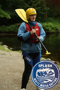 90 year old Amazing Effie Morrison goes white water rafting with Splash on the River Tay in Perthshire, Scotland - http://rafting.co.uk
