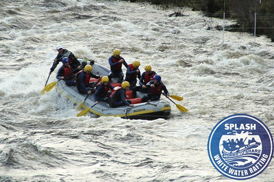 Splash White Water Rafting River Tay Scotland