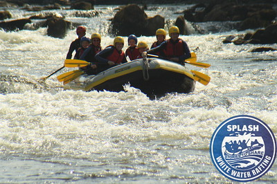 Family rafting on the River Tay with Splash  http://www.rafting.co.uk