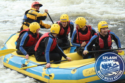 www.rafting.co.uk white water rafting Aberfeldy Scotland stag weekend