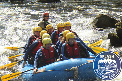 White water rafting on the River Tay from Aberfeldy to Grandtully  http://www.rafting.co.uk