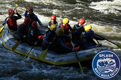 White Water Rafting on the River Tay with Splash  http://www.rafting.co.uk