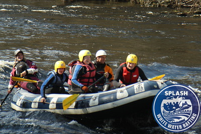 A family White Water Rafting on the River Tay  http://www.rafting.co.uk