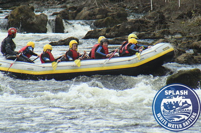 School group Rafting on the river tay Scotland  http://www.rafting.co.uk