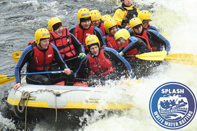www.rafting.co.uk white water rafting Aberfedy Scotland stag weekend