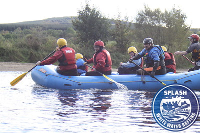 BLESMA Ex service veterans white water rafting Http://www.rafting.co.uk