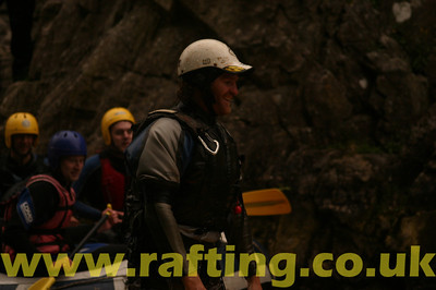 First weekend in 2011 of white water rafting with Splash on the River Tummel near Pitlochry in Perthshire, Scotland - http://rafting.co.uk