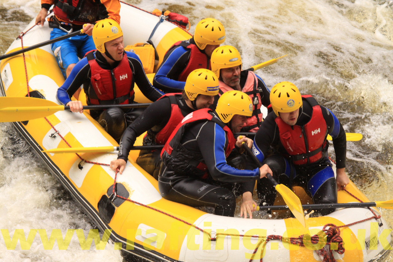 Rafting on the Tummel, Perthshire  http://www.rafting.co.uk