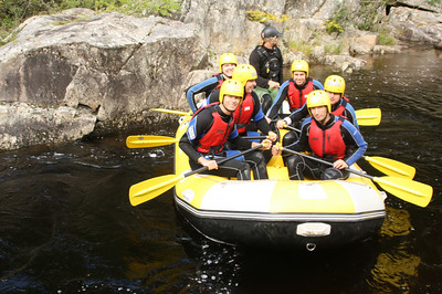 White Water Rafting on the River Tummel with Splash  http://www.rafting.co.uk