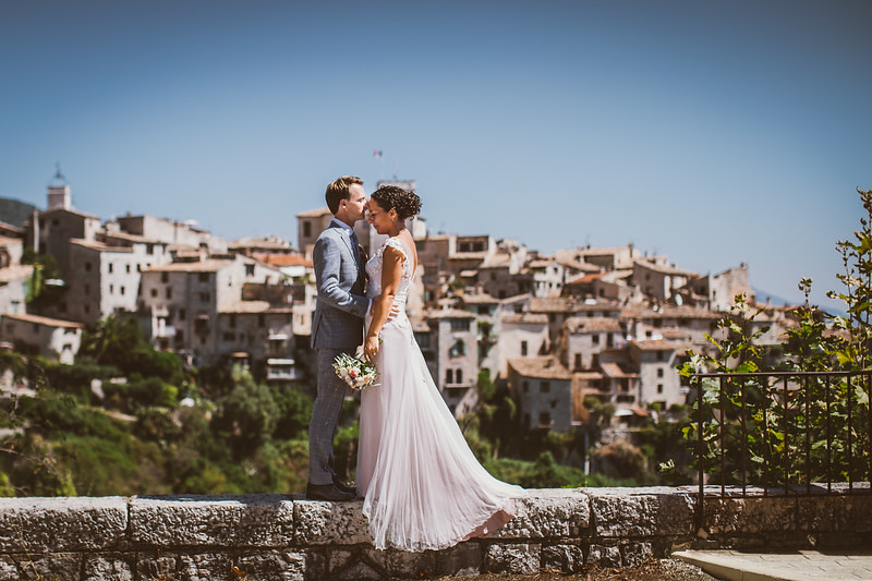 Wedding in Tourretes sur Loup