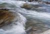 stone in river