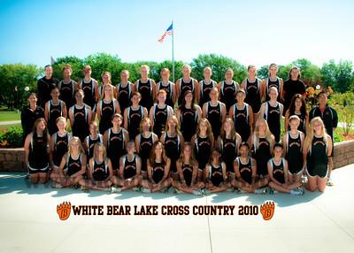 White Bear Girls Cross Country 2010-2011