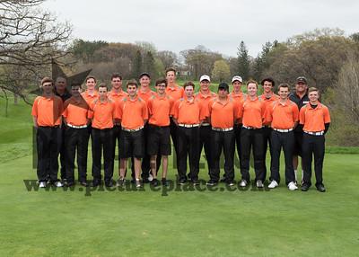 WB Boys Golf 2015-2016